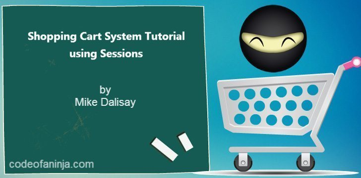 PHP Shopping Cart Tutorial Using Sessions