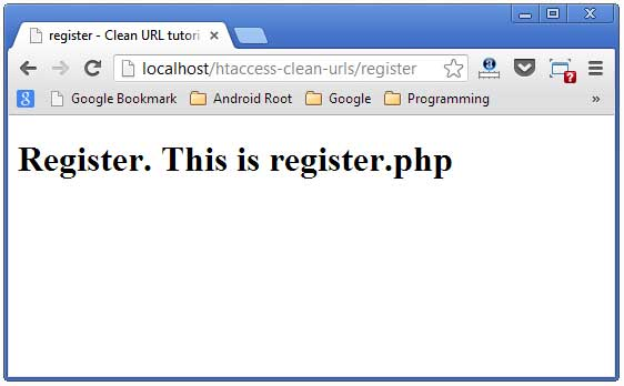 register page rewriterule example
