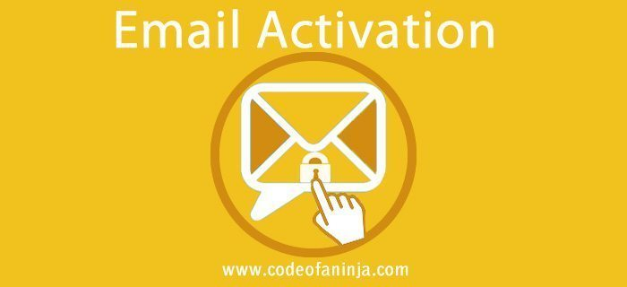 Email Activation Code in PHP