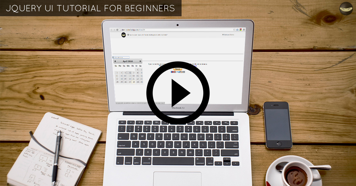 jQuery UI Tutorial for Beginners with Examples