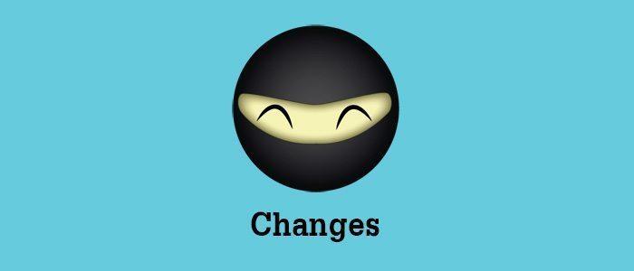 codeofaninja-changes