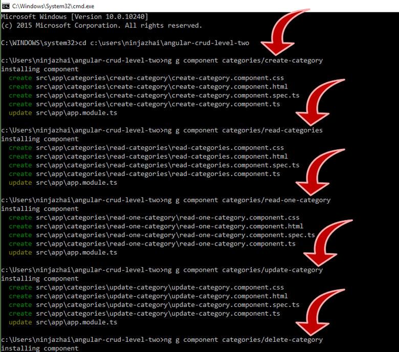 angular cli install windows